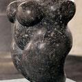 """Torso I"", Wirbelauer, H 45 cm, 1995"