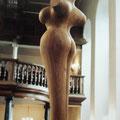 """Stehende"", Eiche, H 125 cm, 1999"
