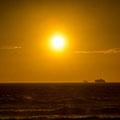 In die Abendsonne: Auf nach Island