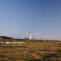 Leuchtturm in Hirtshals im Abendlicht