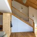 Treppe Altholz inkl. Geländer - Rustikal Fichte/Tanne