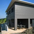 Offene Fassadenschalung - Behandlung Holzschutzlasur