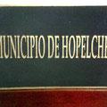 Placa en bronce Hopelchén
