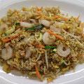 43. Gebratener Reis mit Shrimps & Eiern