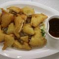 20. Gebackenes Hühnerfleisch mit Sojabohnensprossen