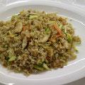 42. Gebratener Reis mit Hühnerfleisch & Eiern