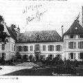 vieux chateau d'Epône - carte D Bricon