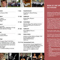 Konzertprogramm 2/2014, Rückseite