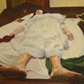 la grazia di S.Paolo(il riposo) olio su tela 100x120