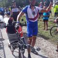 Pimprenelle son beau vélo et la belle tenue CdM 2019