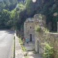 Les anciens thermes romains à Rennes les Bains.