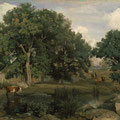 Corot à Fontainebleau