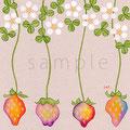 いちごと苺の花