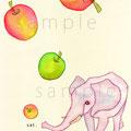 朝のりんごは金のりんご
