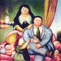 La Familia .- Fernando Botero -.