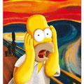 El Grito .- Homer Simpson -.