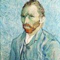 Autoretrato Van Gogh .- Vincenct Van Gogh -.