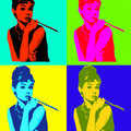 Audrey Hepburn .- Andy Warhol -.