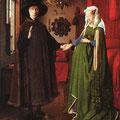 El Matrimonio de Arnolfini .- Jan Van Eyck