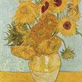 Los Girasoles .- Van Gogh -.