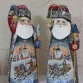 Дед мороз с лого на заказ