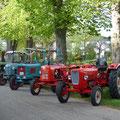 Die ersten Traktoren sind da