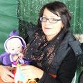 ... die jüngste Teilnehmerin mit Mama