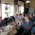 ... gemeinsames Essen beim Griechen