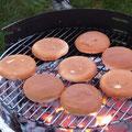 ... Hamburger (Unter- u. Oberteil)