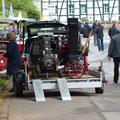 Standmotoren werden entladen