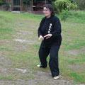 Practicante de Lao Jia Yi Lu - Retiro Taijiquan Cxwta-Chile San Miguel