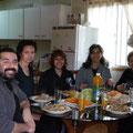 Alumnos e Instructora - Retiro Taijiquan Cxwta-Chile San Miguel