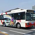 刈谷市公共連絡バス(サイドラッピング)