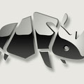 Logo-Design für Galvanik-Firma - Nashorn - Kunde: Betz Chrom