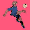 IIllustrationen für Fussballtypen - Das Genie - Magazin: Goal