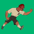 IIllustrationen für Fussballtypen - Das Monster - Magazin: Goal