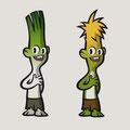 Charackter-Design für eine Sympathiefigur für Kinder -  Kunde: Deutsche Gemüseindustrie