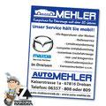 Anzeige Auto Mehler Dreisen