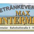 Banner Getränkeverkauf Hintermeier Wald