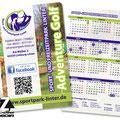 Taschenkalender Sportpark Linter