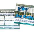Bonuskarte WOW Wald