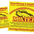 Anzeige Polsterei Maier Wald