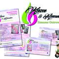 Flyer und Visitenkarten Kerzen & Accessoires Ostrowsky Schwandorf