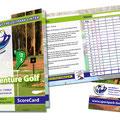 AdventureGolf Scorecard Sportpark Linter