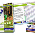 AdventureGolf Scorecard Sportpark Linter