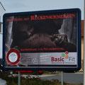 Plakat im Großformat