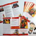 Faltflyer, Faltblatt Feuerwehr Einselthum