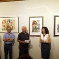 Vernissage Gemäldeausstellung Annelies Wagner Kunst- und Kulturforum Stubenberg