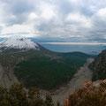 Panorama da Monte somma (NA)