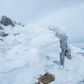 Formazioni di ghiaccio - Monte Miletto (BN)